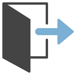 Icon Exit Unc Human Resources